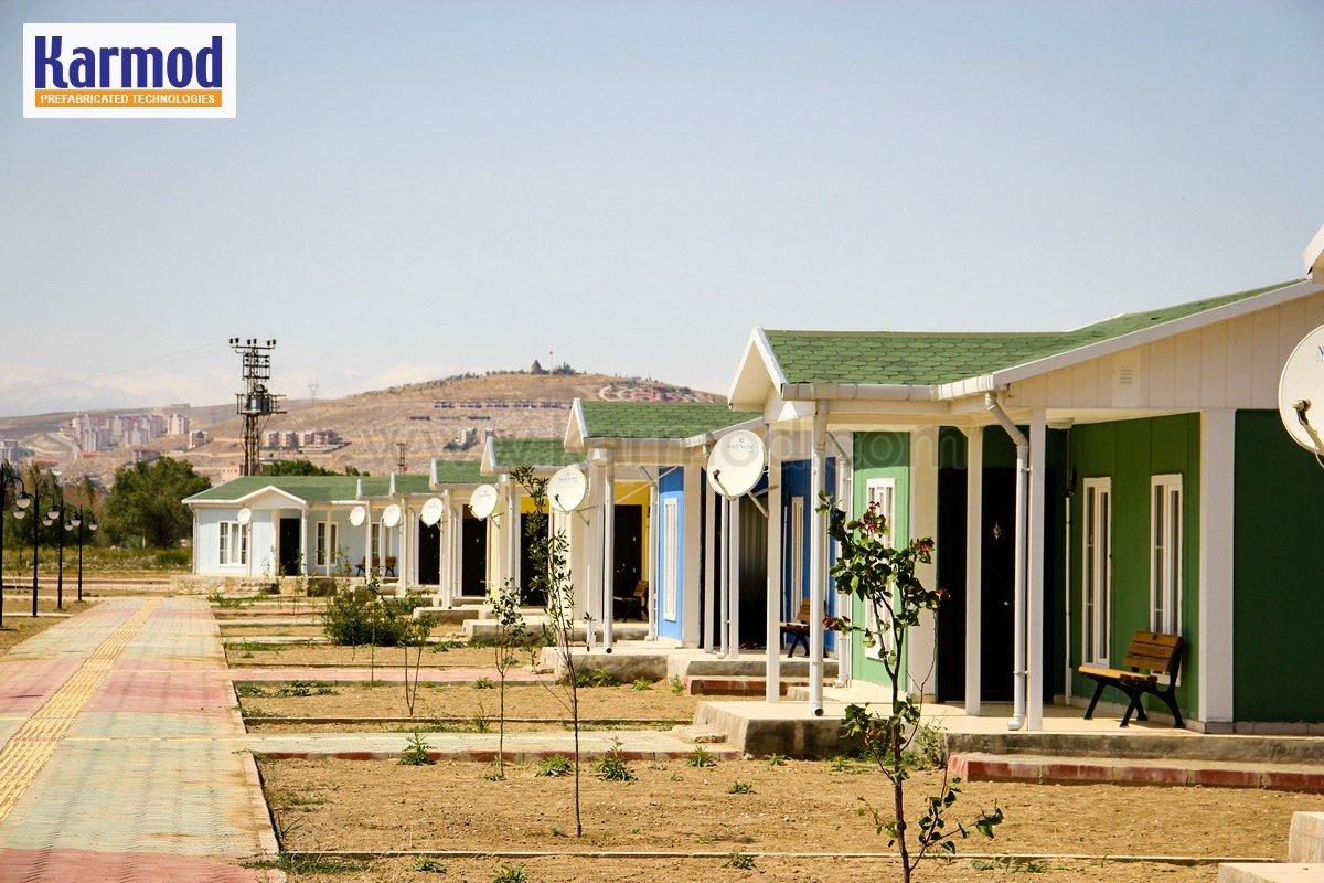 تجمعات سكنية جاهزة