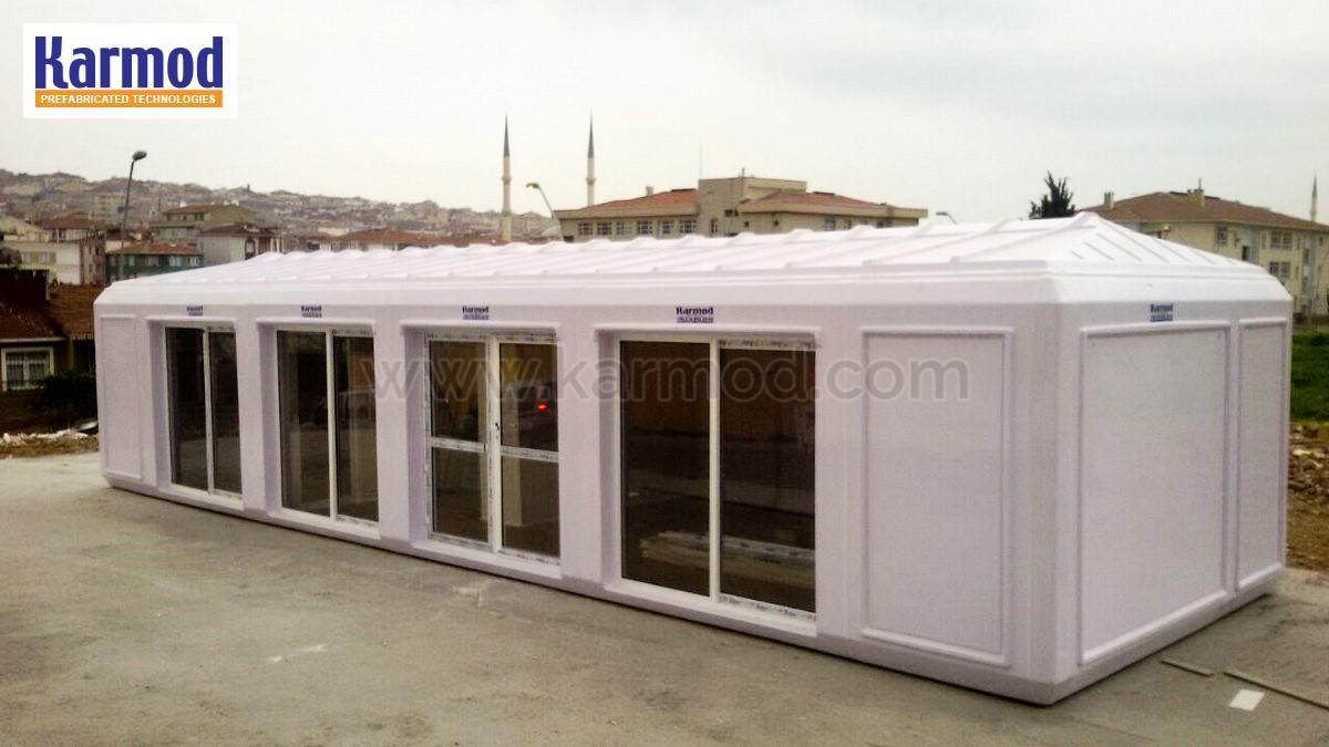 خيم شعرية مجهزة بالحمام ووحدات التكييف