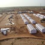 كرفانات مخيم الزعتري