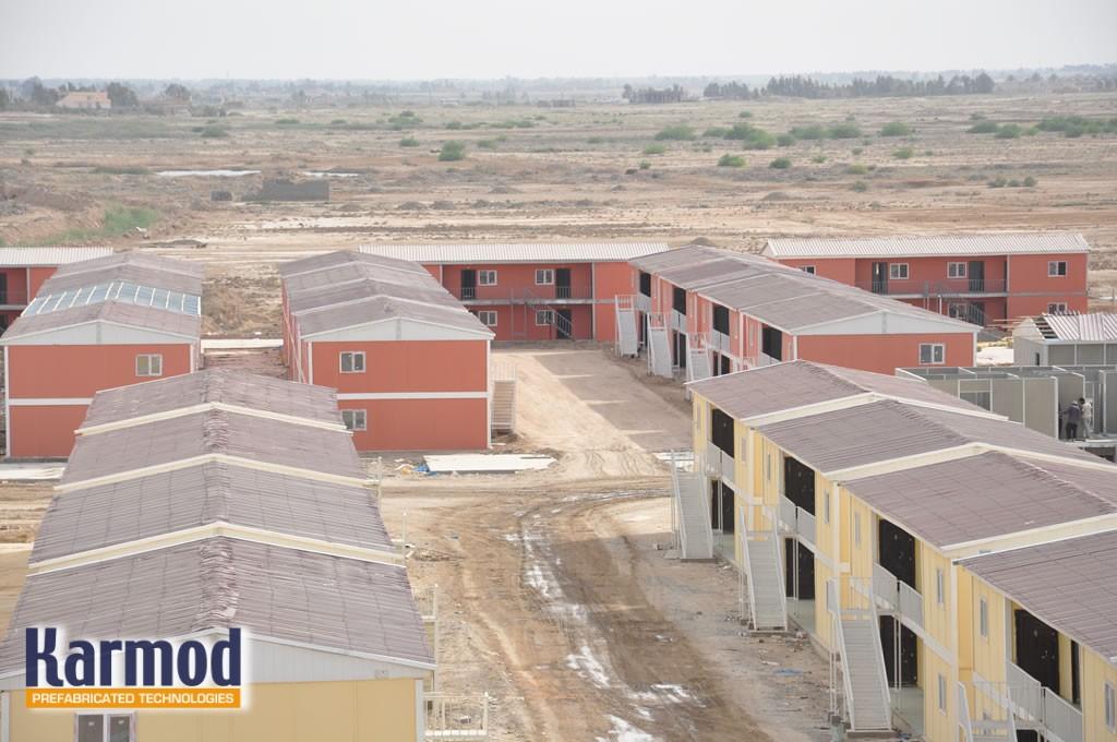 البيوت الجاهزة,طرق البناء
