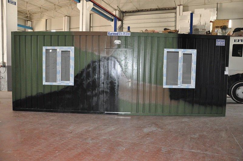 مخيمات عسكرية – مشاريع الحاويات العسكرية والملاجئ