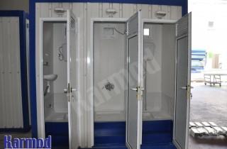 حمامات مخيمات متنقلة للبيع