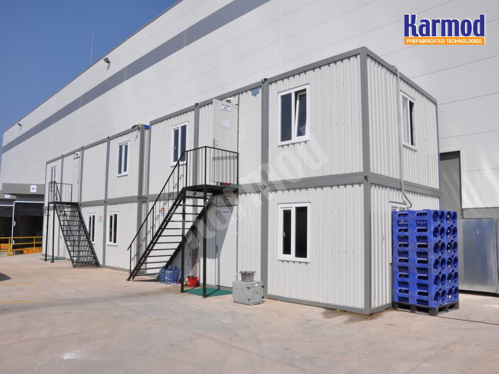Porta Cabin and Containers