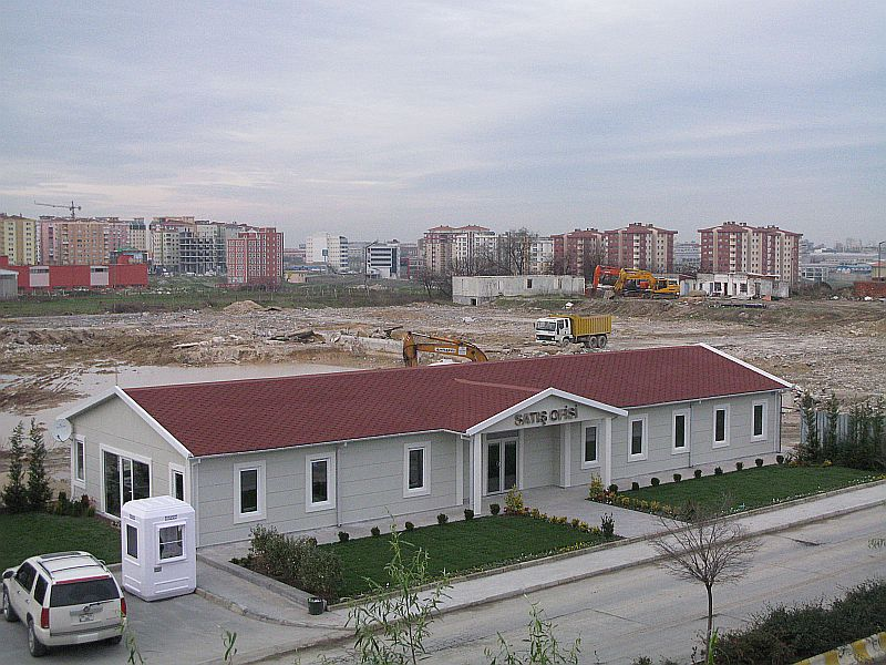 مشروع مبنى ادارى تجارى