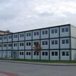مبنى مكاتب إدارية لموقع العمل