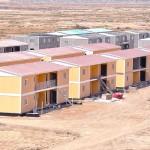 اسرع بناء بيت في العراق