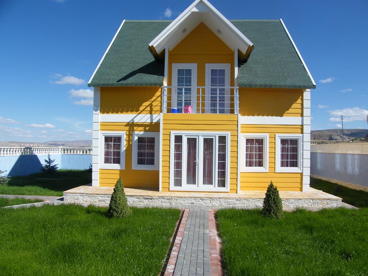 فلل مسبقة الصنع – بيوت جاهزة في تركيا – بيوت جاهزة متنقلة