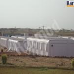 مشروع كرفانات لمخيم