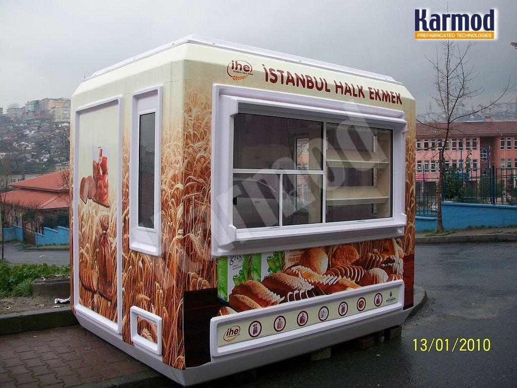 أكشاك بيع خبز تابعة لبلدية اسطنبول