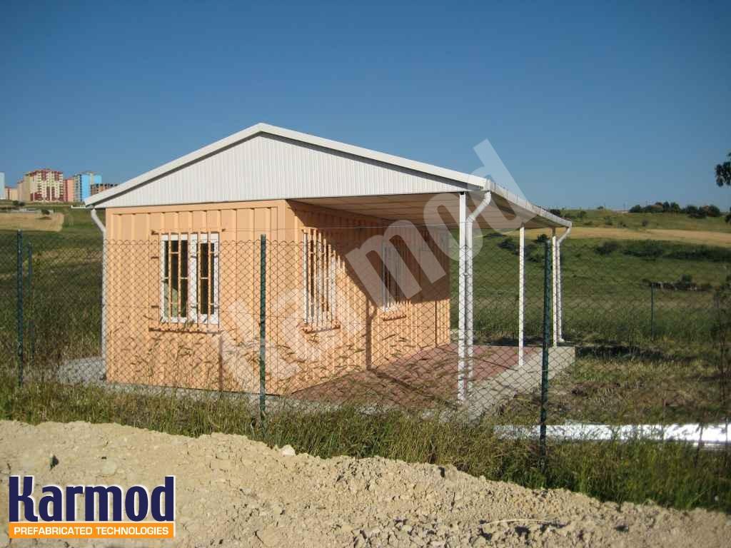 بيوت جاهزة للسكن من حاويات الشحن