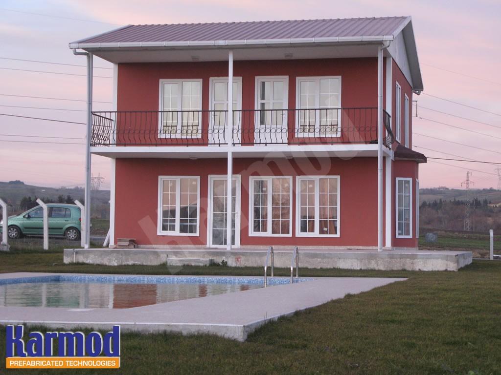 بناء المنازل الجاهزة