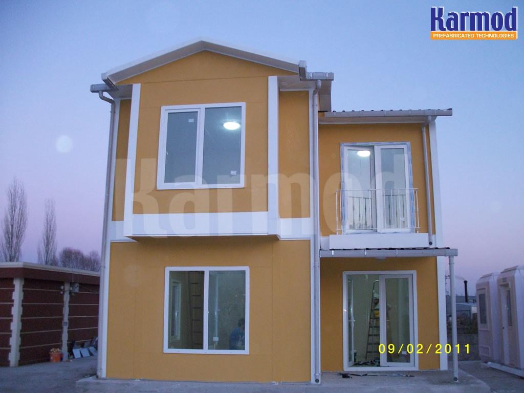منازل سريعة التركيب في ليبيا
