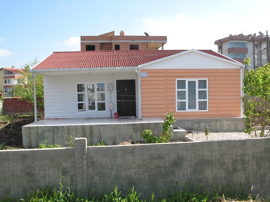 البيوت مسبقة الصنع