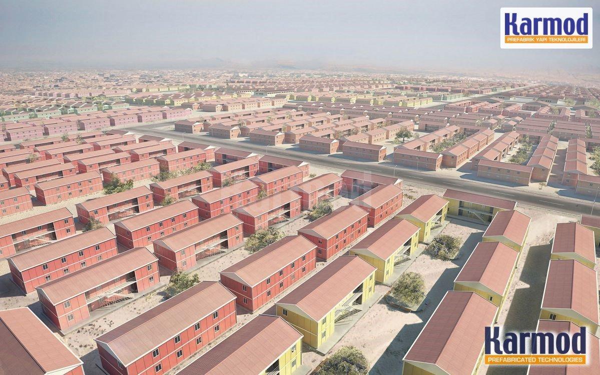 بناء البيوت الجاهزة في العراق