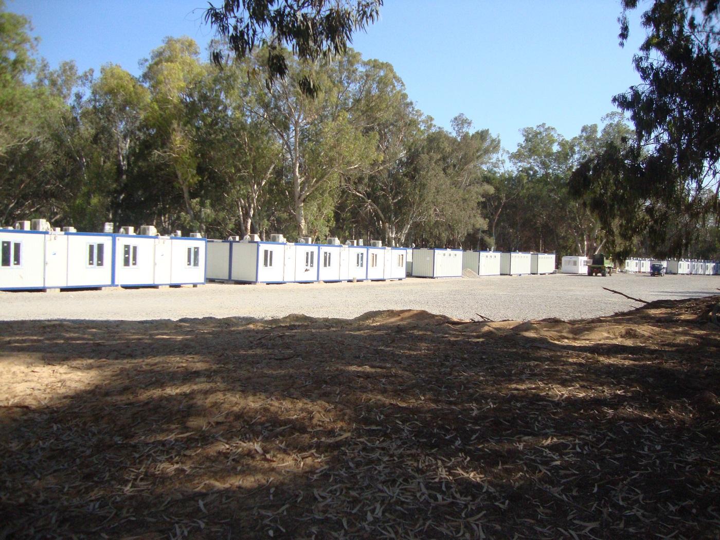 كرفانات المخيمات